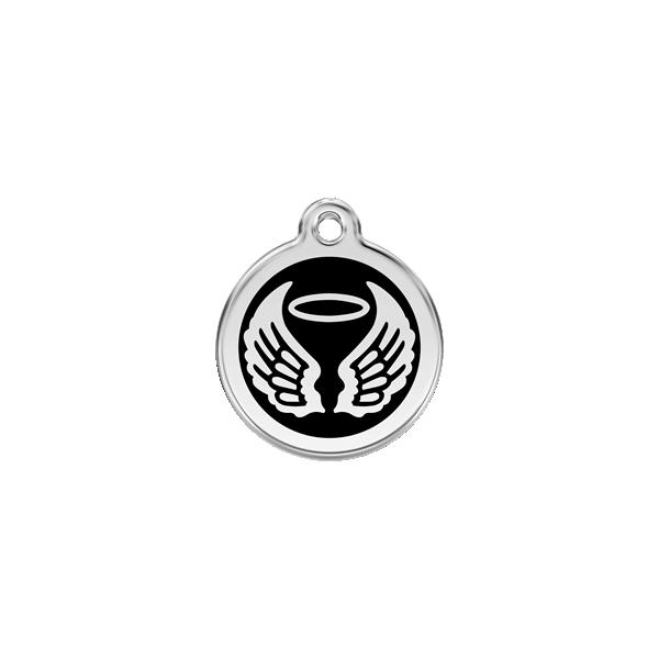Médaille gravée pour chien et chat en émail Red Dingo