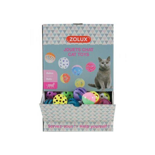 Balles pour chat - Lot de 3 - Zolux