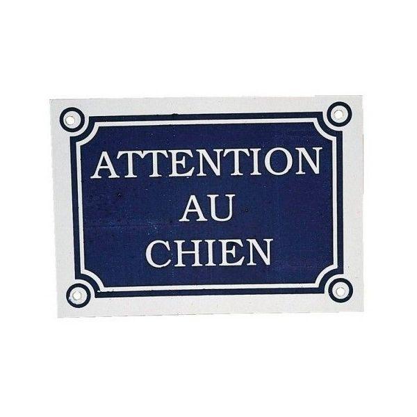 "Plaque ""Attention au chien"" - Zolux"